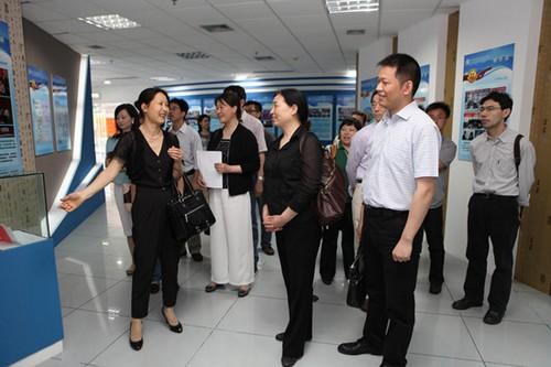 浙江理工大学科技与艺术学院代表团访问浙江大学宁波