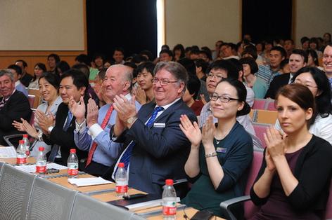 上海理工大学中英国际学院校园开放日