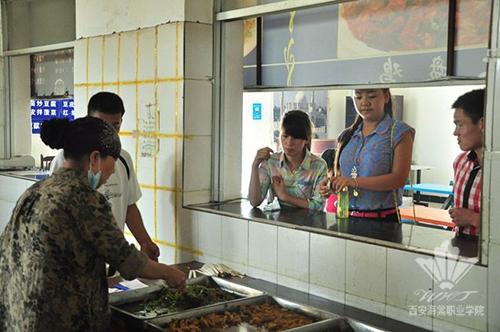 西安海棠职业学院:餐厅补助再增加 物美价廉惠学子