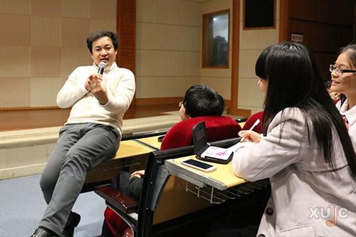 著名日语教育家笈川幸司到嘉庚学院传授日语学习方法