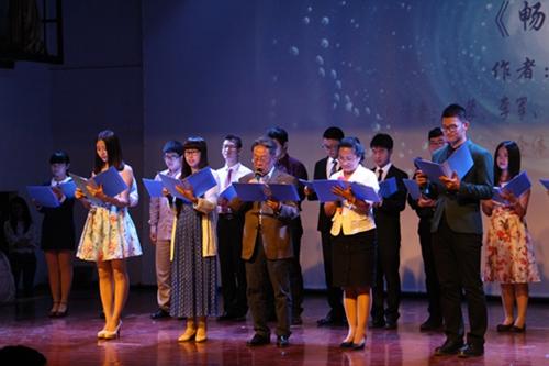 《诗刊》主编叶延滨,青岛著名作家,诗人高伟,及业界拥有较高荣誉的
