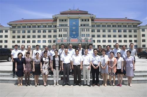 宁波大红鹰学院在西安思源学院考察交流
