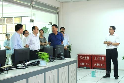 陕西省委高教工委董小龙副书记到西安欧亚学院调研党建和安全工作