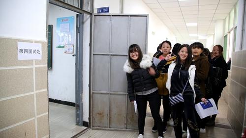 西安海棠职业学院:最美的时光 我们在春雨中相遇