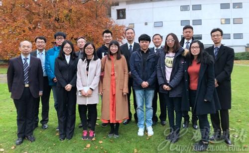 中国海洋大学党委书记鞠传进率团访问欧洲高校与海洋研究机构